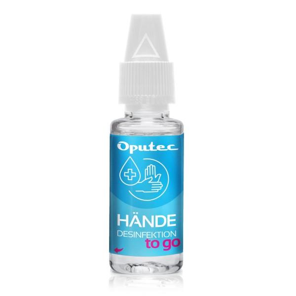 10ml Händedesinfektionsmittel to go - Schnelldesinfektion für die Hosentasche (begrenzt viruzid)